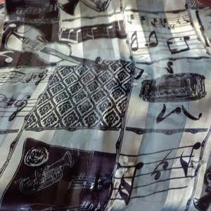 Accessories - Musical instrument scarf